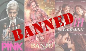 Movies banned