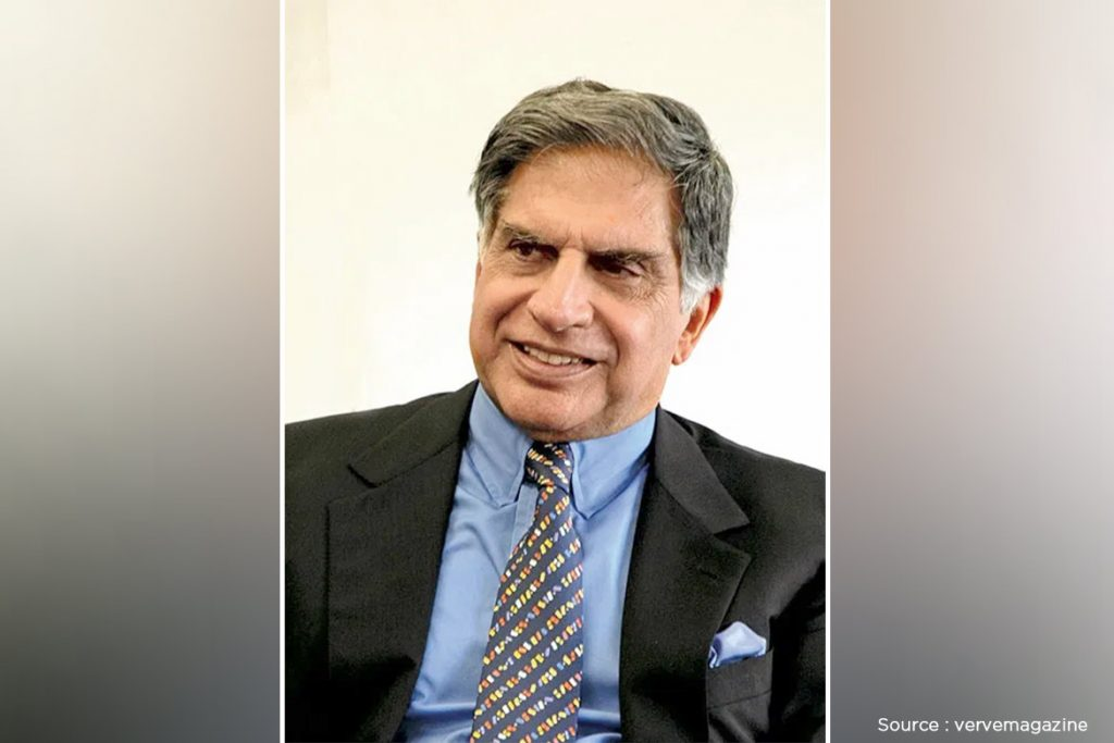 Ratan Tata is an Indian industrialist, investor, philanthropist and formal chairman of the Tata Group.