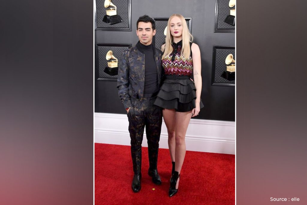 Image result for Joe jonas and sophie  grammy 2020