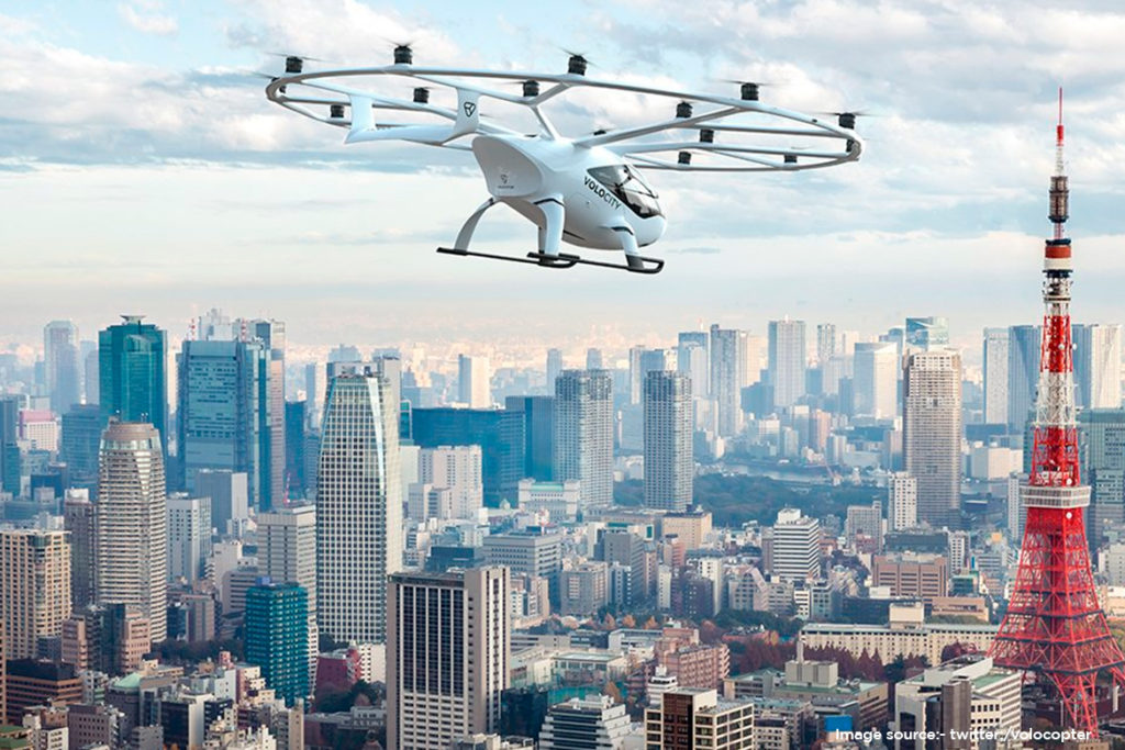 Germany's Volocopter in line with the flying cars of Back to the Future 2