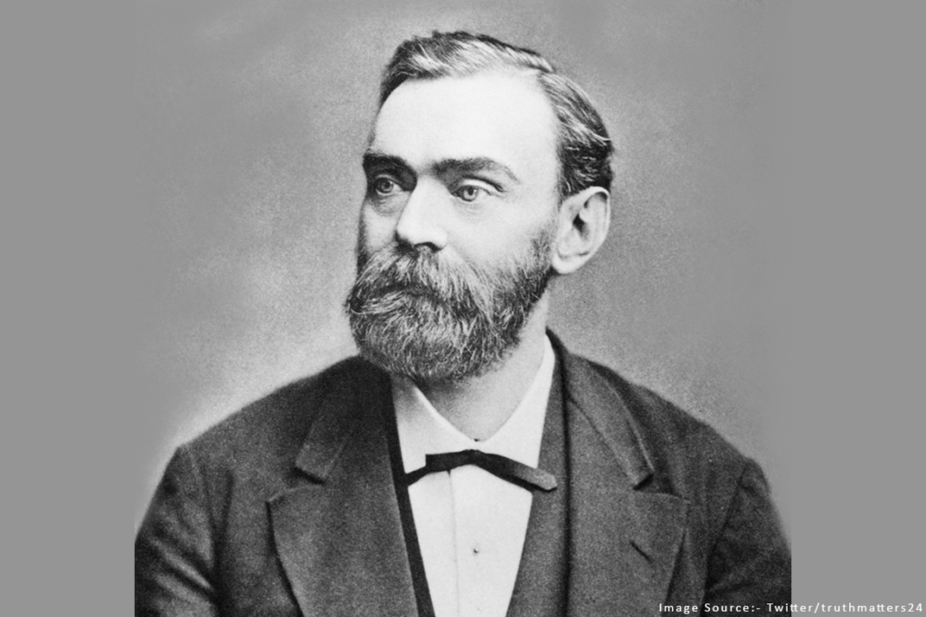 Alfred Nobel The Man after whom All Nobel Prizes including the Nobel Peace Prize are named