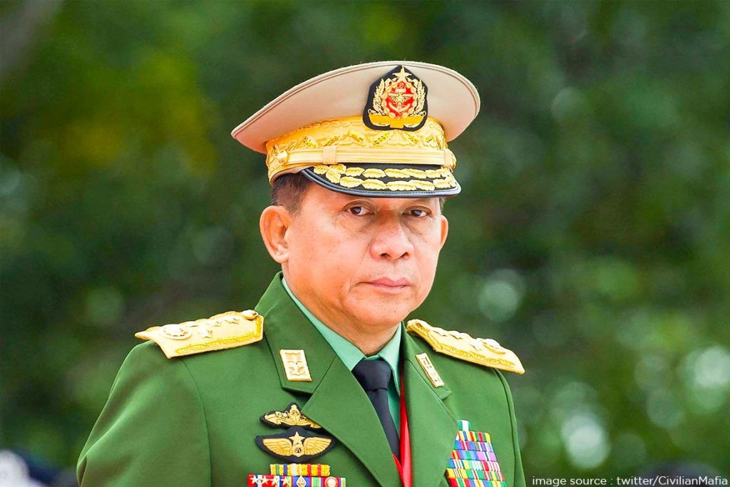 Orchestrator of the Coup Gen Min Aung Hlaing